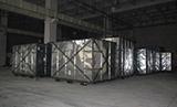 2010年1月7日第一批加工设备导入