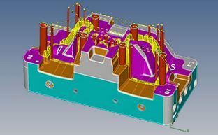 看GDM如何缩短车灯反光环模具加工周期