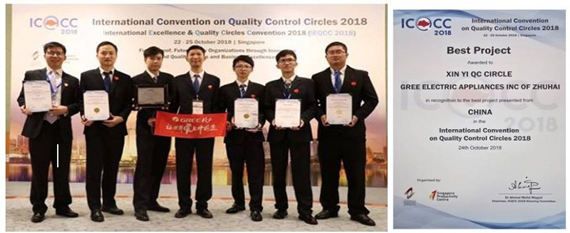 斩获国际质量管理小组大会八项大奖,格力大金模具用品质赢得世界客户的信赖