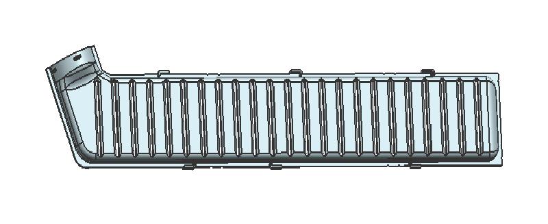 汽车联管箱端盖零件模具技术