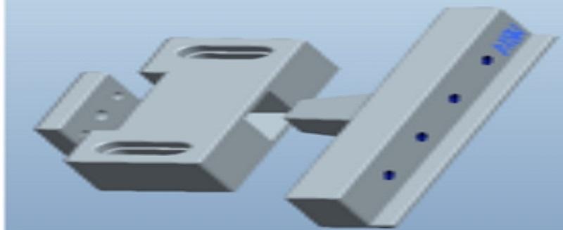 精密模具制造之线割工序侧固式夹具开发报道