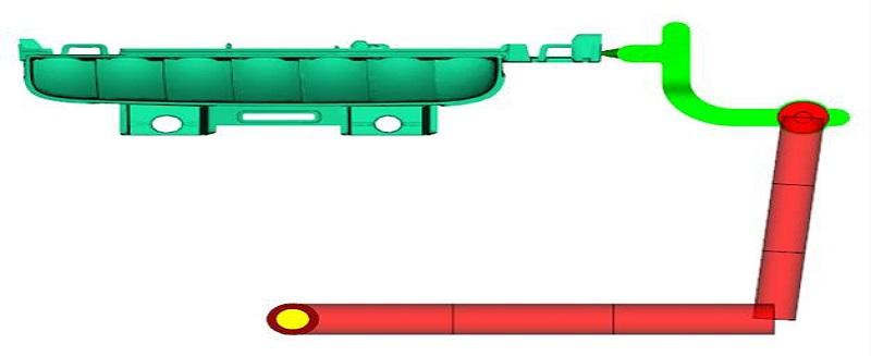 车灯注塑模具反射体的熔接线优化改善