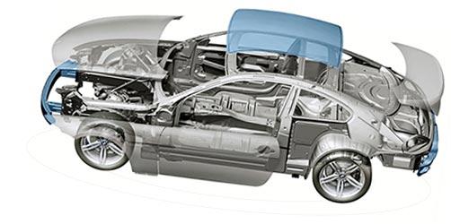 汽车外壳冲压制造图解