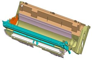 底壳B-家电注塑模具