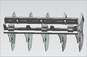 扫风叶片(自动)  -家电注塑模具